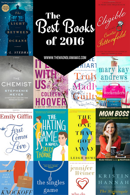 The best books of 2016. A look at what our favorite books were of the year.