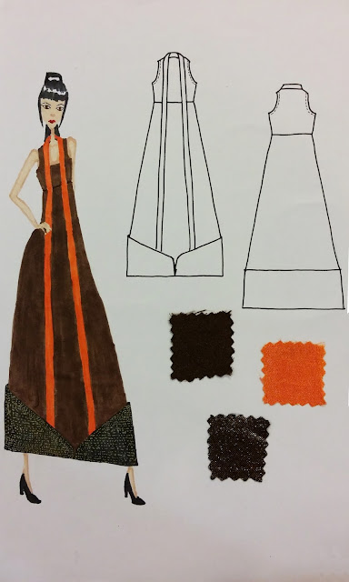 Fifth design entry for Fashion Design Competition