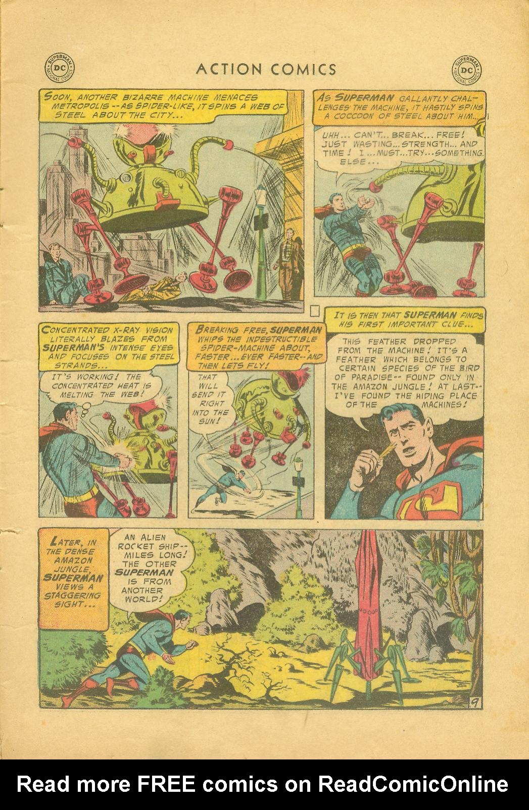 Read online Action Comics (1938) comic -  Issue #216 - 12