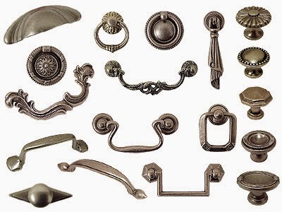 Old Iron Cabinet Knobs and Pulls