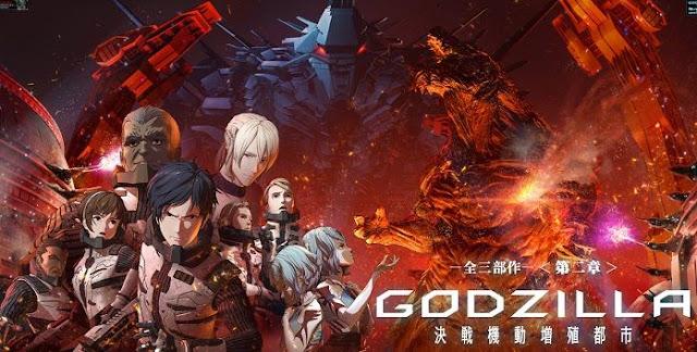 Godzilla: The City Mechanized for the Final Battle filme Toho Netflix