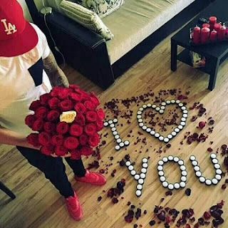 I love You Flower Whatsapp Pic