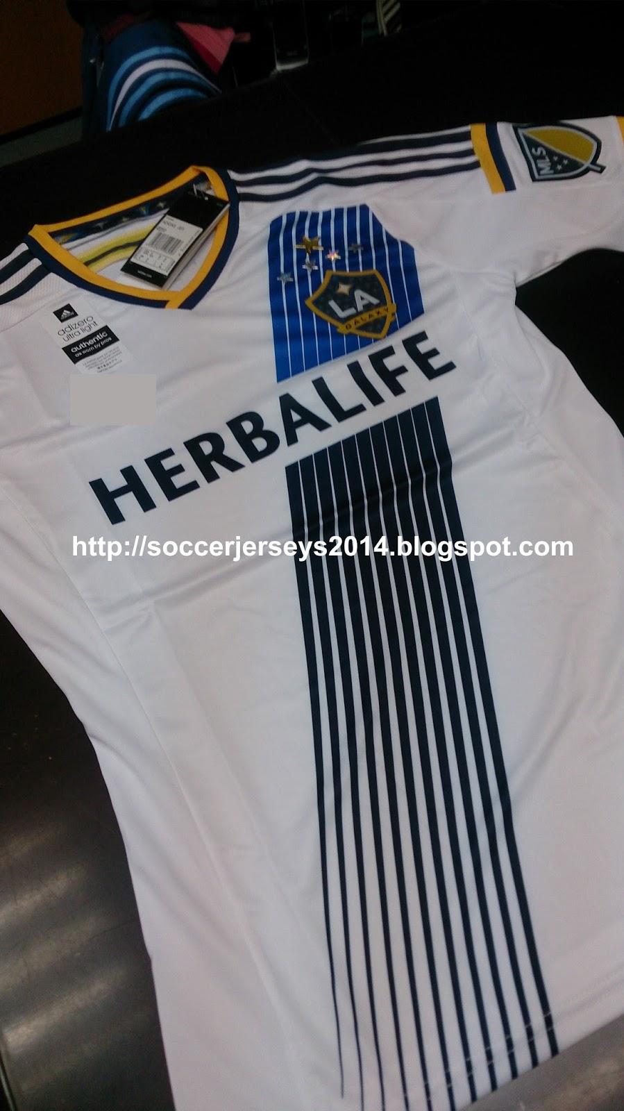 hot sale online 27ecb 5c552 Soccer Jerseys 2014: LA Galaxy Home -2015 - 2016 (Player Issue)
