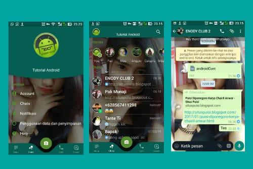 Cara Mengubah Home Screen Whatsapp Dengan Foto Sendiri