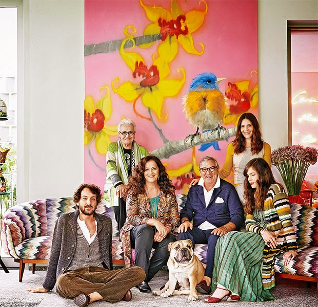 Casas de celebrities. El clan Missoni