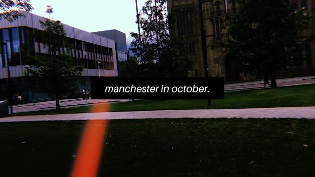 Manchester in October // Blogtober