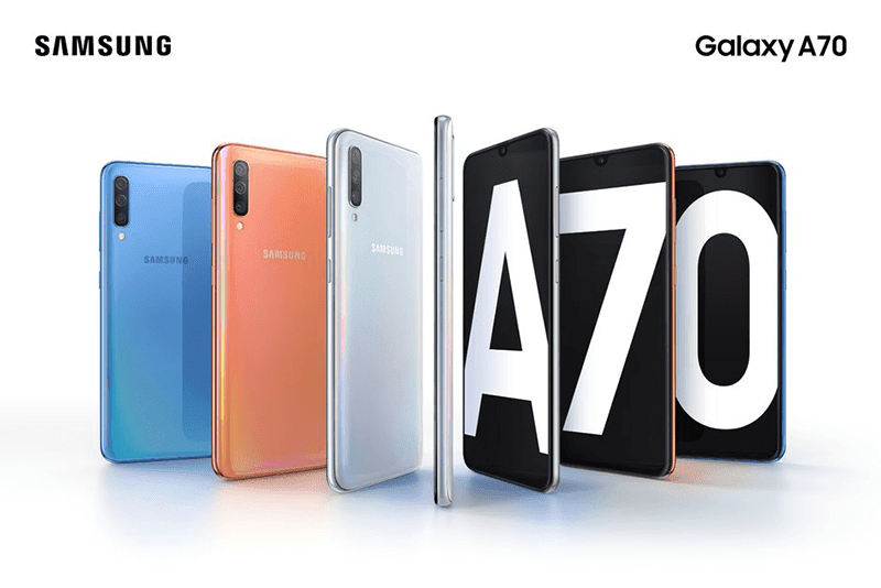 Samsung releases Galaxy A70 with 6.7-inch 20:9 screen and 32MP cameras