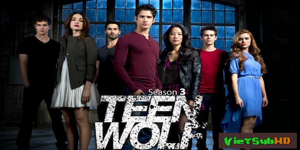 Phim Người Sói Teen 3 Hoàn tất (24/24) VietSub HD | Teen Wolf (season 3) 2013