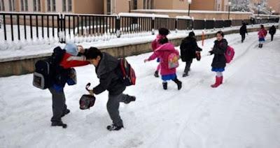 gümüşhane de okullar tatil mi? yarın gümüşhane de okullar kar tatili