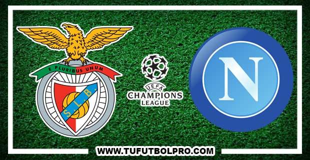 Ver Benfica vs Napoli EN VIVO Por Internet Hoy 6 de Diciembre 2016