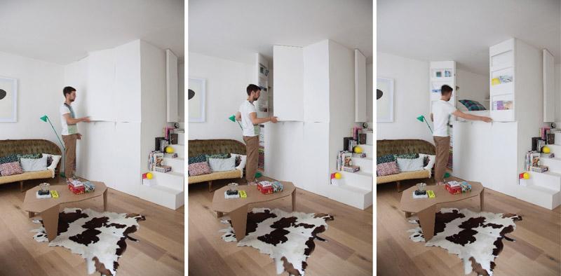 box multitasking per la zona notte