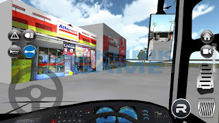 Download Game IDBS Bus Simulator mod apk 2.2 Bus Indonesia 2