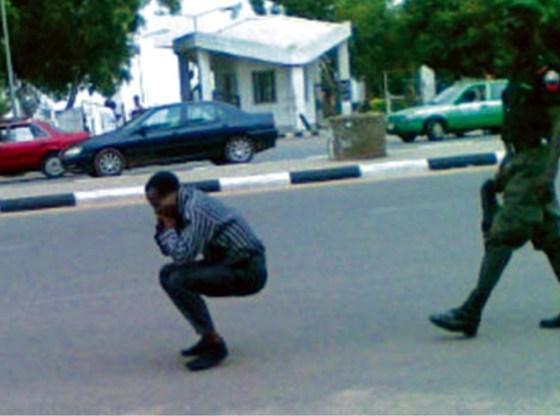 Authorised guns in maniacs' hands           By CHUKA NNABUIFE