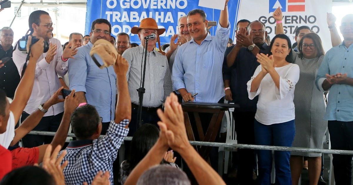 Resultado de imagem para Governador já visitou 255 municípios de todas as regiões da Bahia