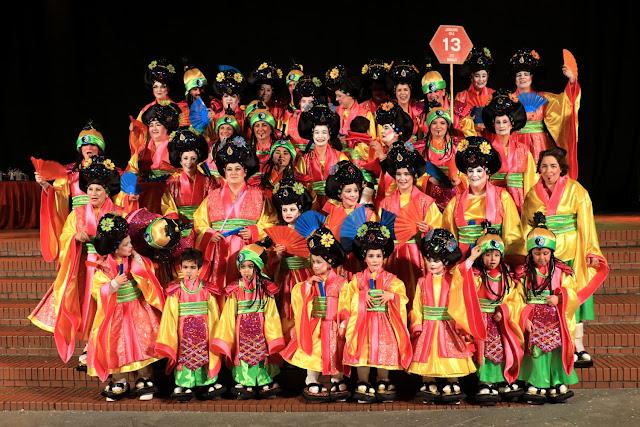 Maitegarria logra con sus kimonos el primer premio de carnaval