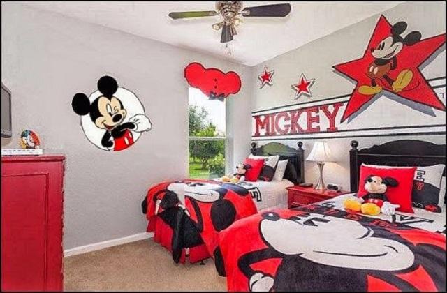 Dormitorios infantiles de mickey mouse - Dormitorio infantil original ...