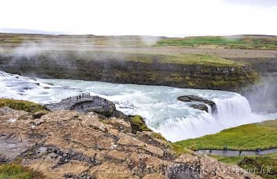 Gullfoss瀑布, 冰島, Iceland
