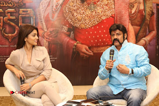 Shriya Saran Nandamuri Balakrishna at Gautamiputra Satakarni Team Press Meet Stills  0166.JPG