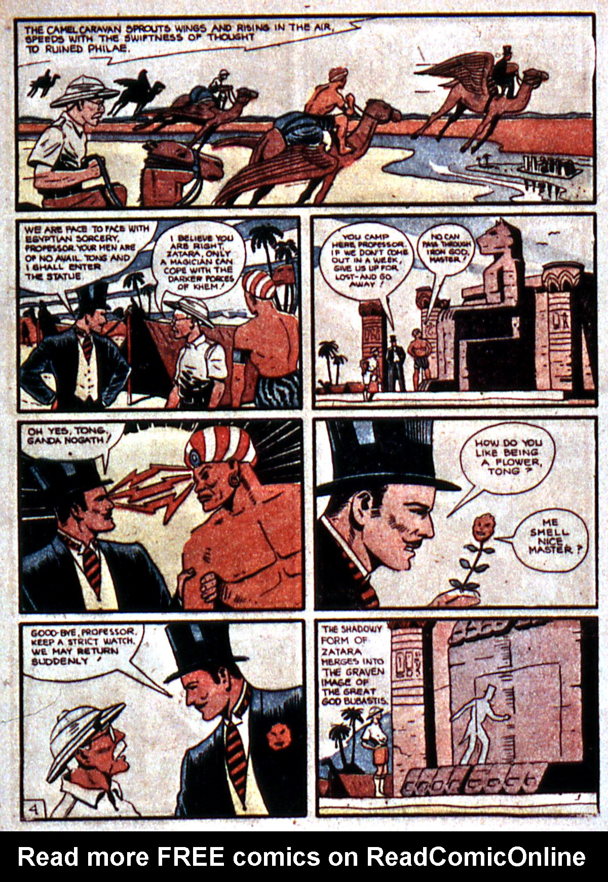 Read online Action Comics (1938) comic -  Issue #5 - 57