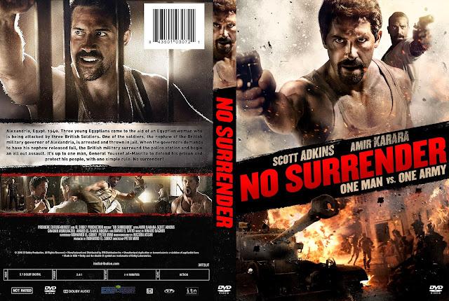 No Surrender DVD DVD Cover