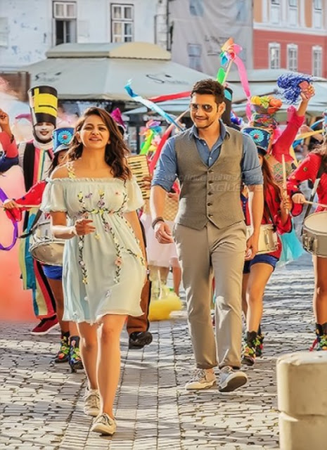 Mahesh babu 'Spyder' Movie Latest Posters
