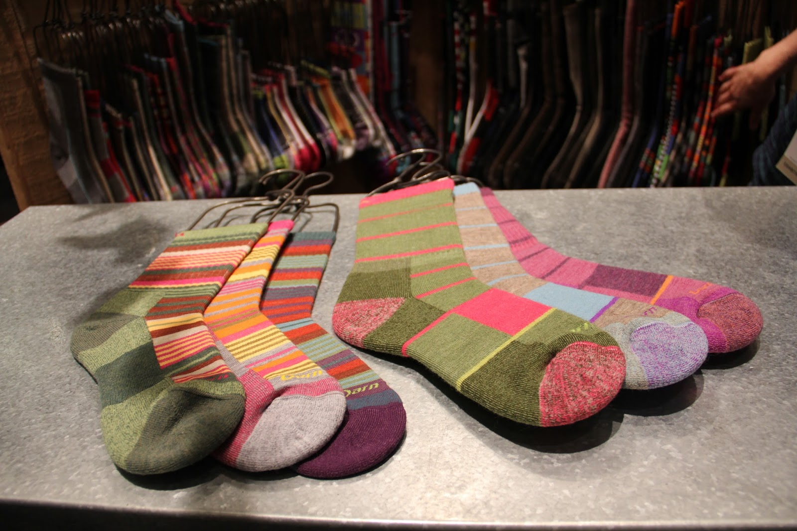 f4bc76902f6 ... wool…the most colorful sock collection ever…maybe they have Monet  re-incarnated spirit at work- designs are in collab with Poppy Gall Design  Studio.