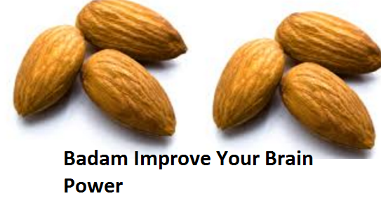 Health Benefits of Almond or Badam Improve Your Brain Power