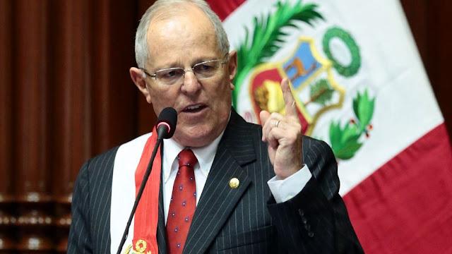 El presidente de Perú, Pedro Kuczynski, renunció y el viernes lo sucederá su vice Vizcarra