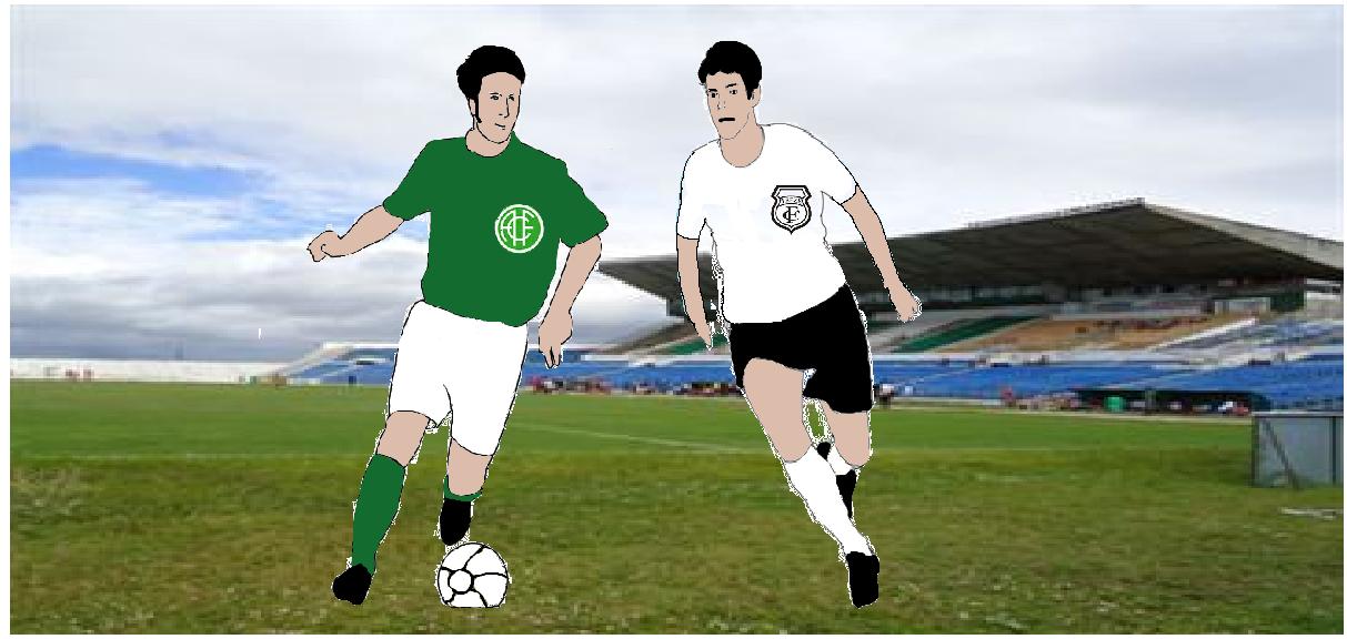 7a3baa6cd3 Ilustração de Treze - PB x América no Estádio Ernani Sátyro em Campina  Grande pelo Campeonato Brasileiro de 1981 (Taça de Prata)