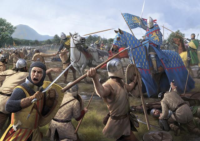 Batalla del riu Cefís almogàvers