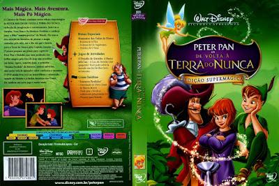 Filme Peter Pan 2 De Volta a Terra do Nunca DVD Capa