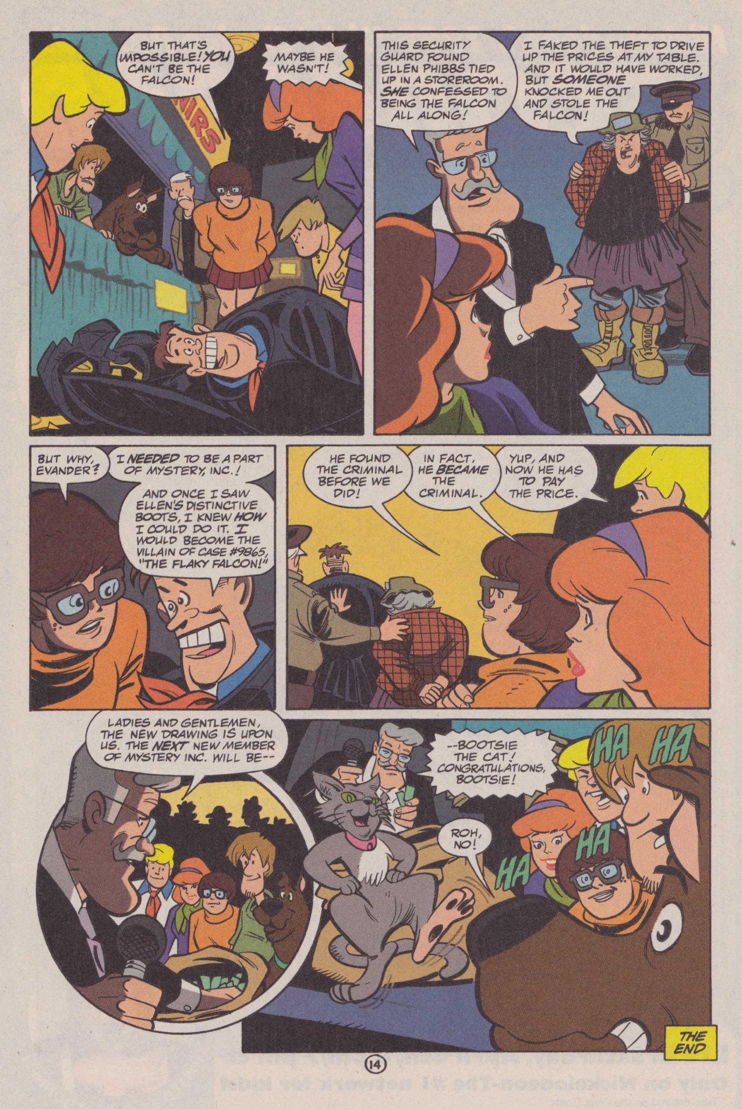 Read online Scooby-Doo (1997) comic -  Issue #10 - 15