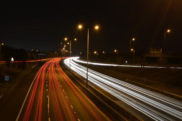 Motorway Night Photography