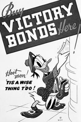 Victory Bonds Donald Duck animatedfilmreviews.filminspector.com