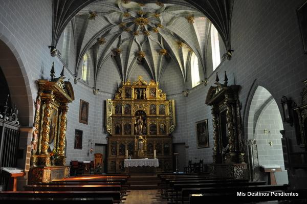 Interior de la Iglesia de la Asunción (Sallent de Gállego, Huesca)