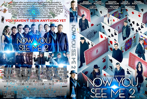 Now You See Me 2 – Latino, Inglés – DVD9
