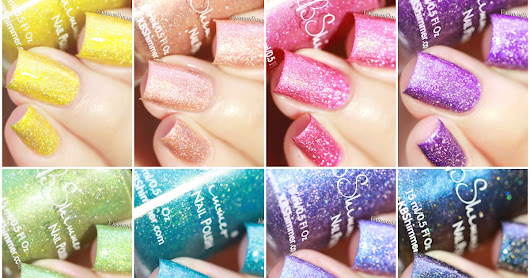 NEW at Harlow&Co : KBShimmer Summer Vacation collection!