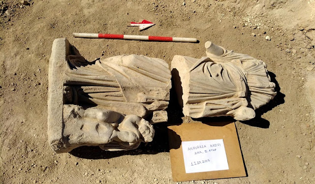 Ancient Greek statue discovered in Turkey