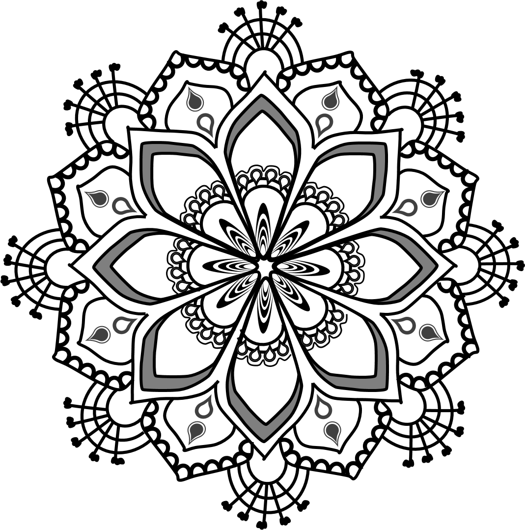 Free Clipart Mandala Series RT001   Everyday Affirmations