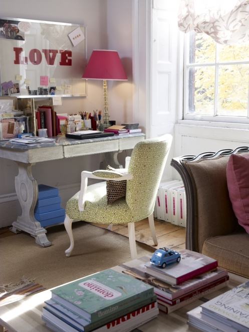 Inspire Bohemia: Home Offices & Craft Rooms Part I
