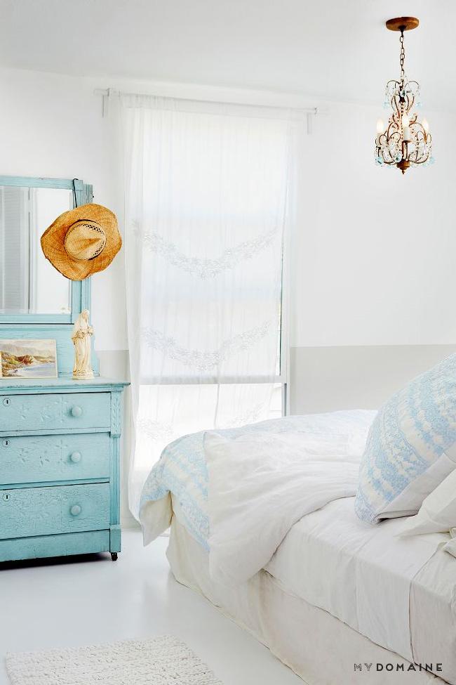 Arredare piccoli spazi: la mobilhome shabby chic di Rachel Ashwell camera