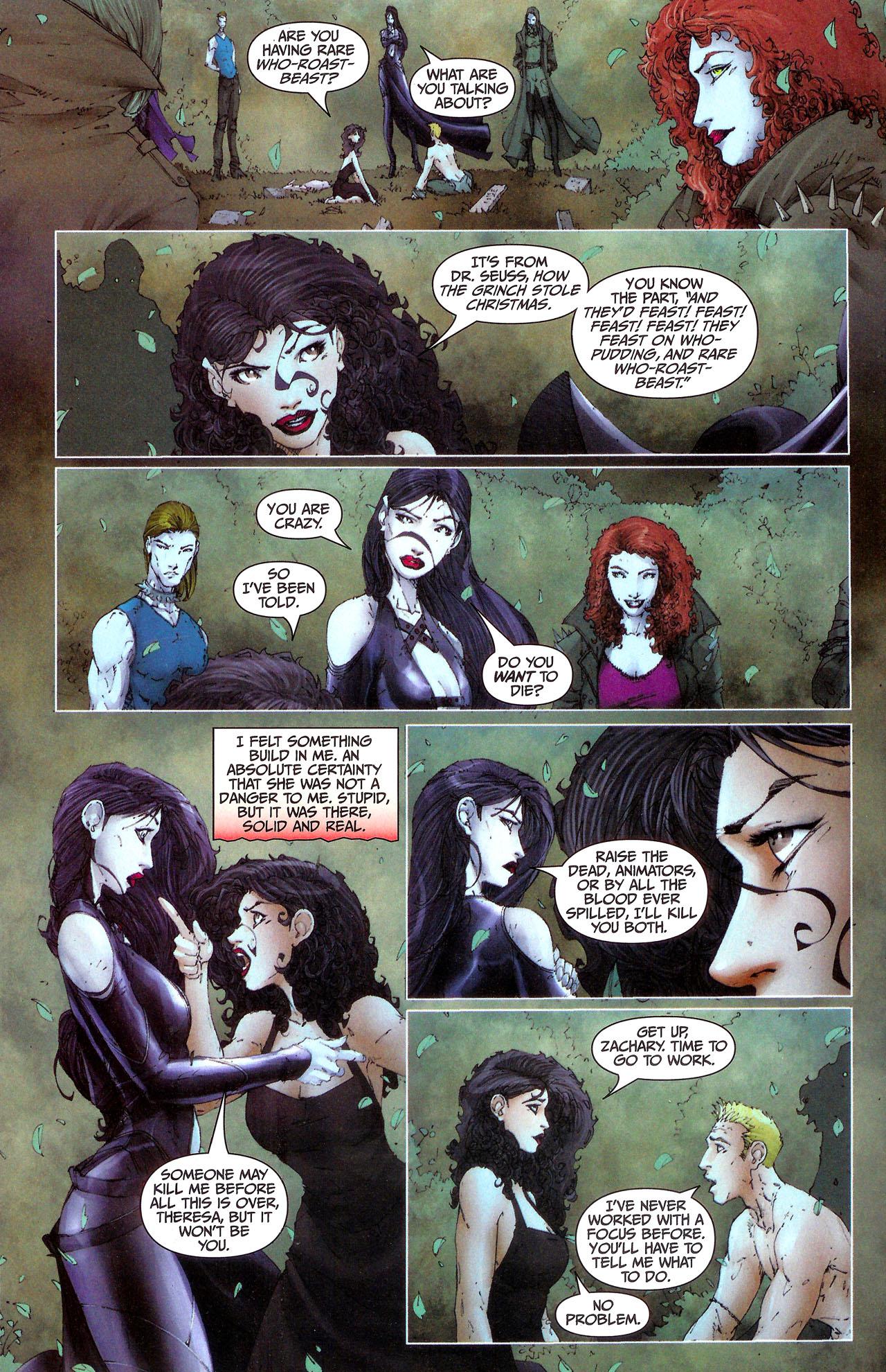 Read online Anita Blake, Vampire Hunter: Guilty Pleasures comic -  Issue #7 - 11