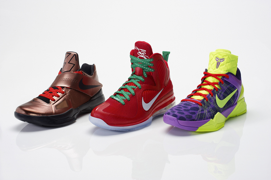 best website b6ea7 ecf1a Christmas day has become the canvas for special Nike Basketball colorways  and the 2011 Christmas day games are sure to delight basketball fans around  the ...