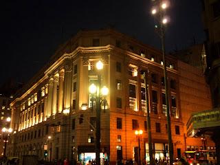 A Bela Construção do Shopping Light, em São Paulo