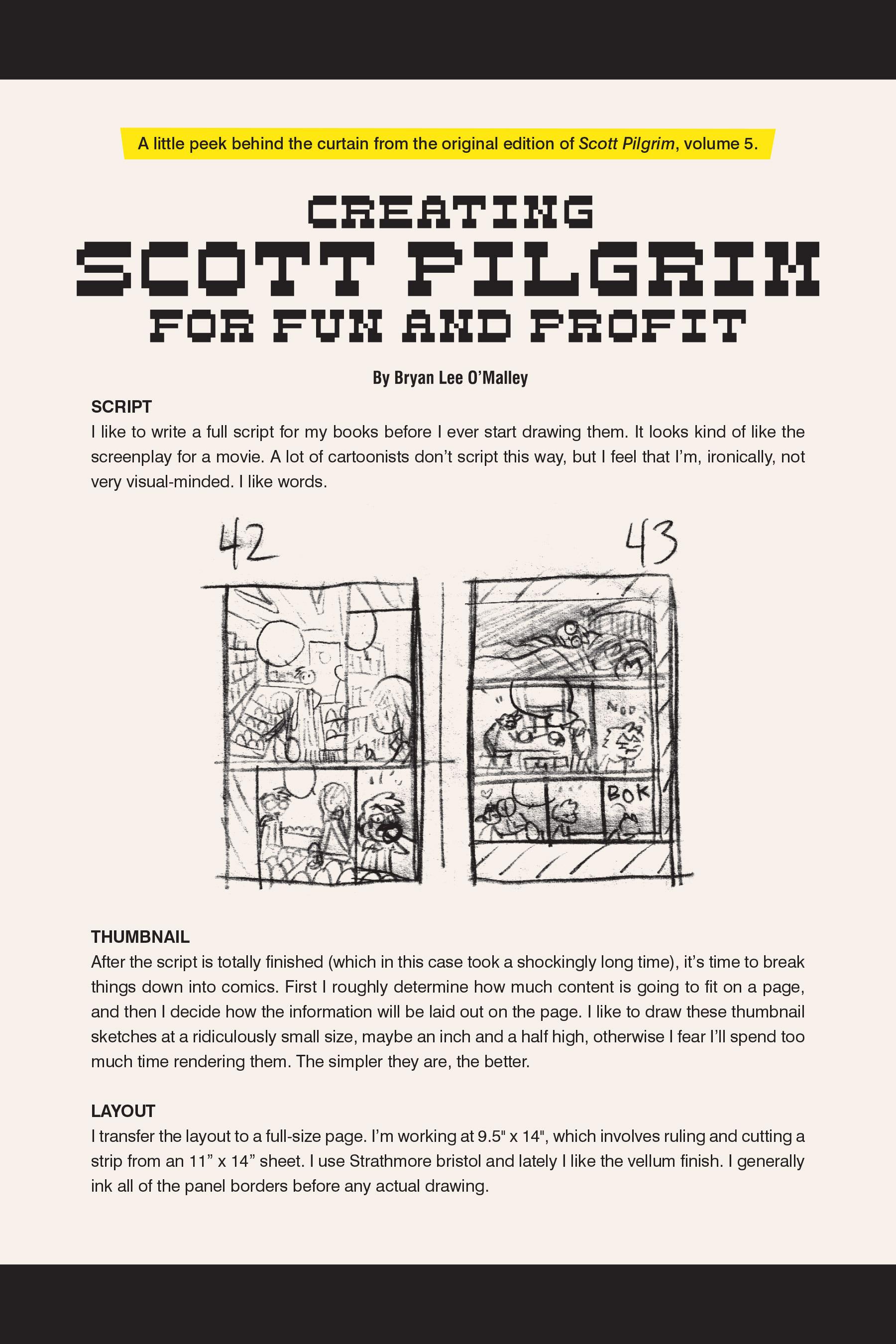 Read online Scott Pilgrim comic -  Issue #5 - 196