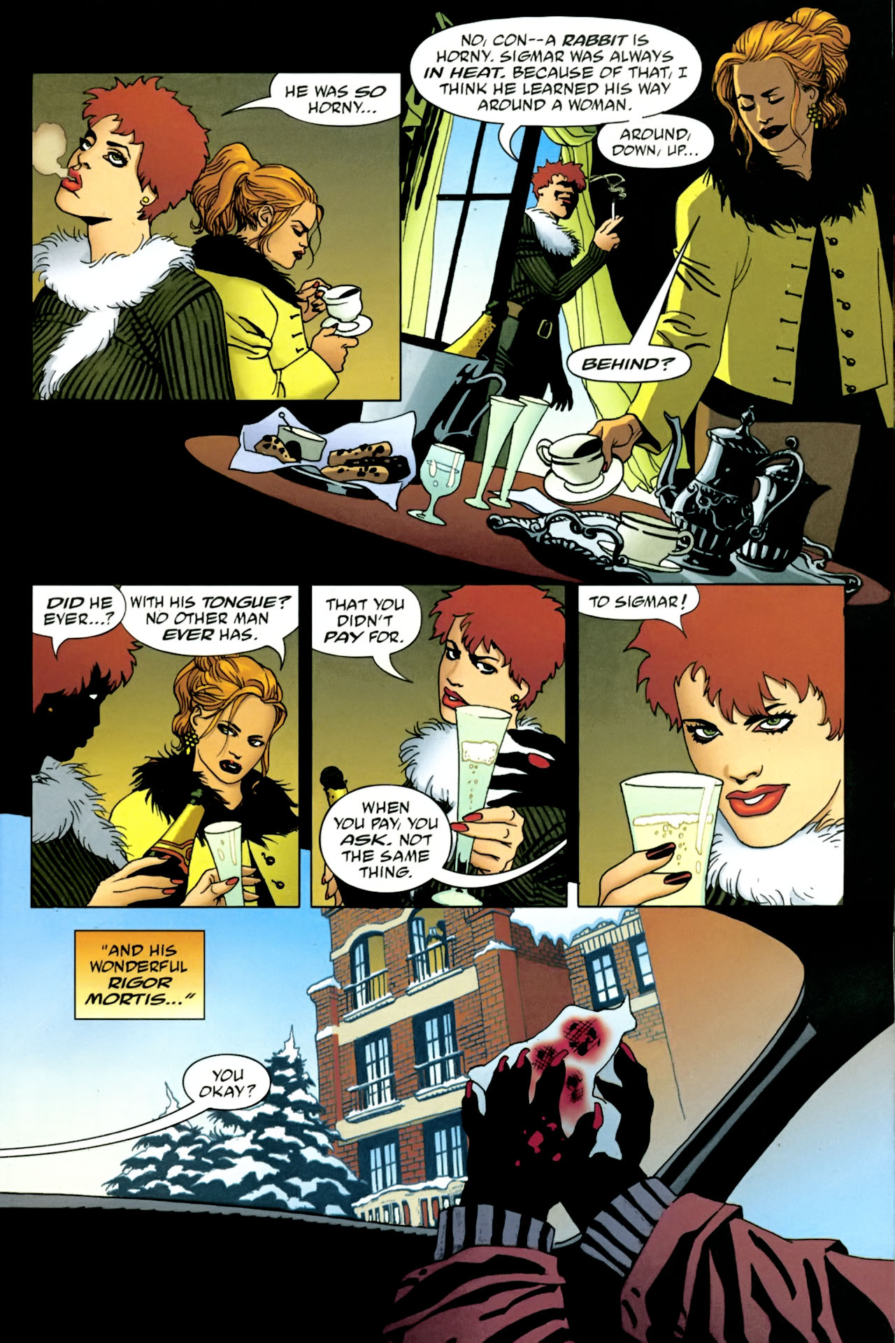 Read online 100 Bullets comic -  Issue #86 - 4