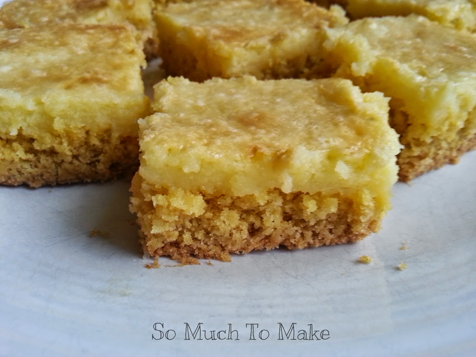 Chess Squares With Lemon Cake Mix
