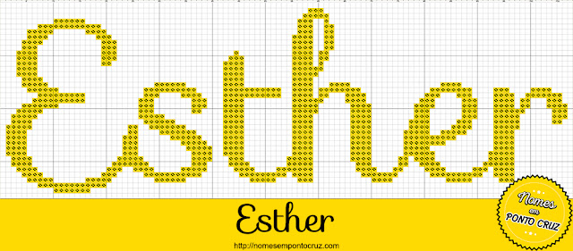 Nome Esther em Ponto Cruz