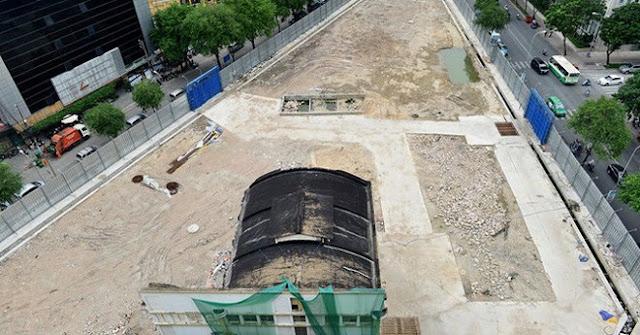 Khu đất vàng 6000m2 tại địa chỉ 2-4-6 Hai Bà Trưng (quận 1) bị bỏ hoang