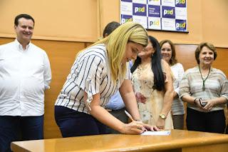 Maisa Mitidieri é eleita presidente da Frente Parlamentar em Defesa das Mulheres
